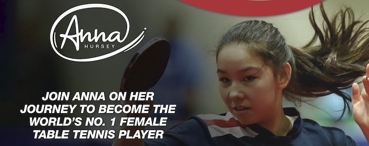 Anna Hursey - #1 Female Table Tennis Player