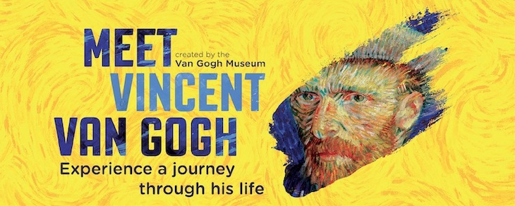 MEET VINCENT VAN GOGH EXPERIENCE - LONDON 2020