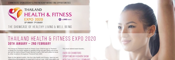 THAILAND HEALTH & FITNESS EXPO 2020