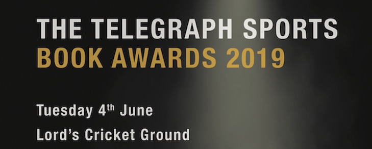 THE TELEGRAPH SPORTS BOOK AWARDS 2019